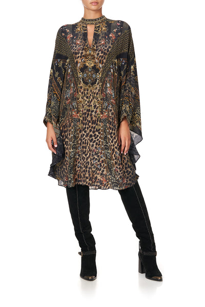 SHORT KAFTAN WITH HIGH NECK ABINGDON PALACE