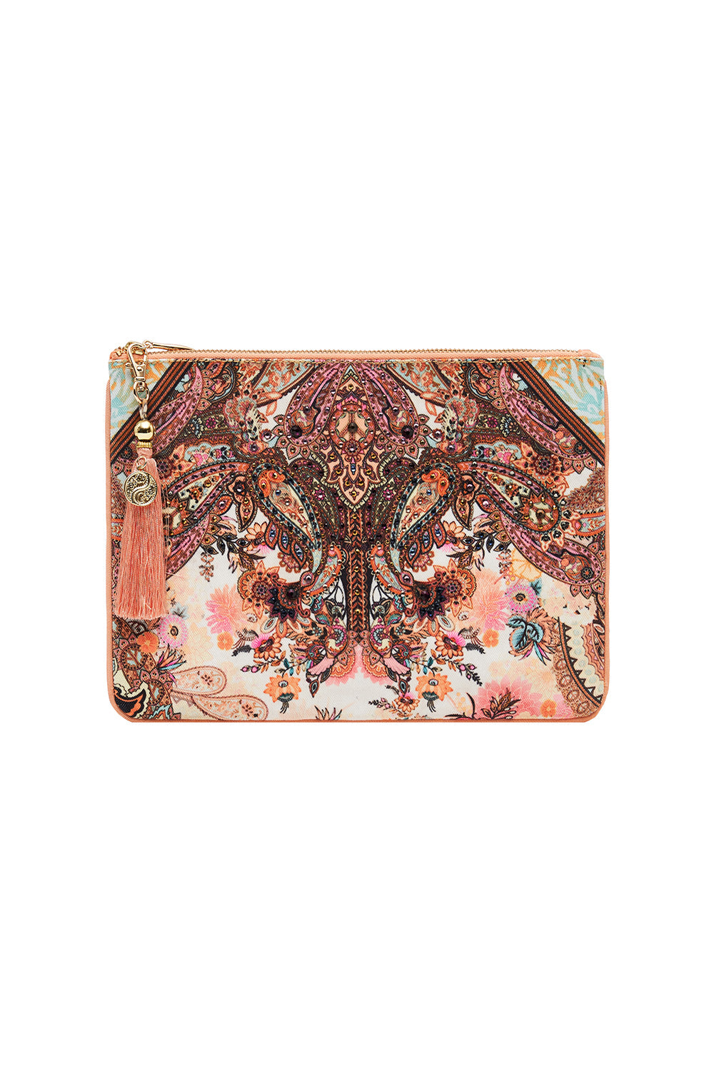 SMALL CANVAS CLUTCH CARNABY DISCO