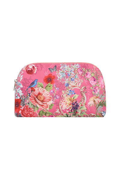 LARGE COSMETIC CASE PATCHWORK HEART