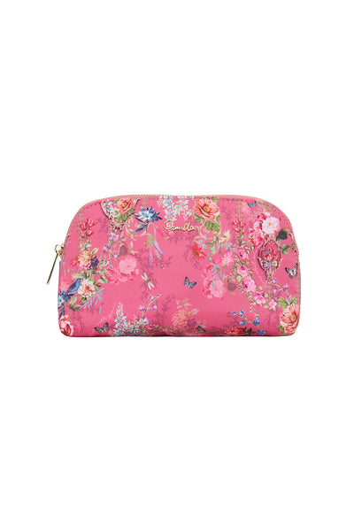 SMALL COSMETIC CASE PATCHWORK HEART