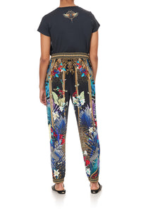 HAREM PANTS WITH FRONT PLEATS RAINBOW ROOM