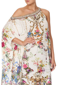 ONE SHOULDER KAFTAN WITH NECKBAND BY THE MEADOW