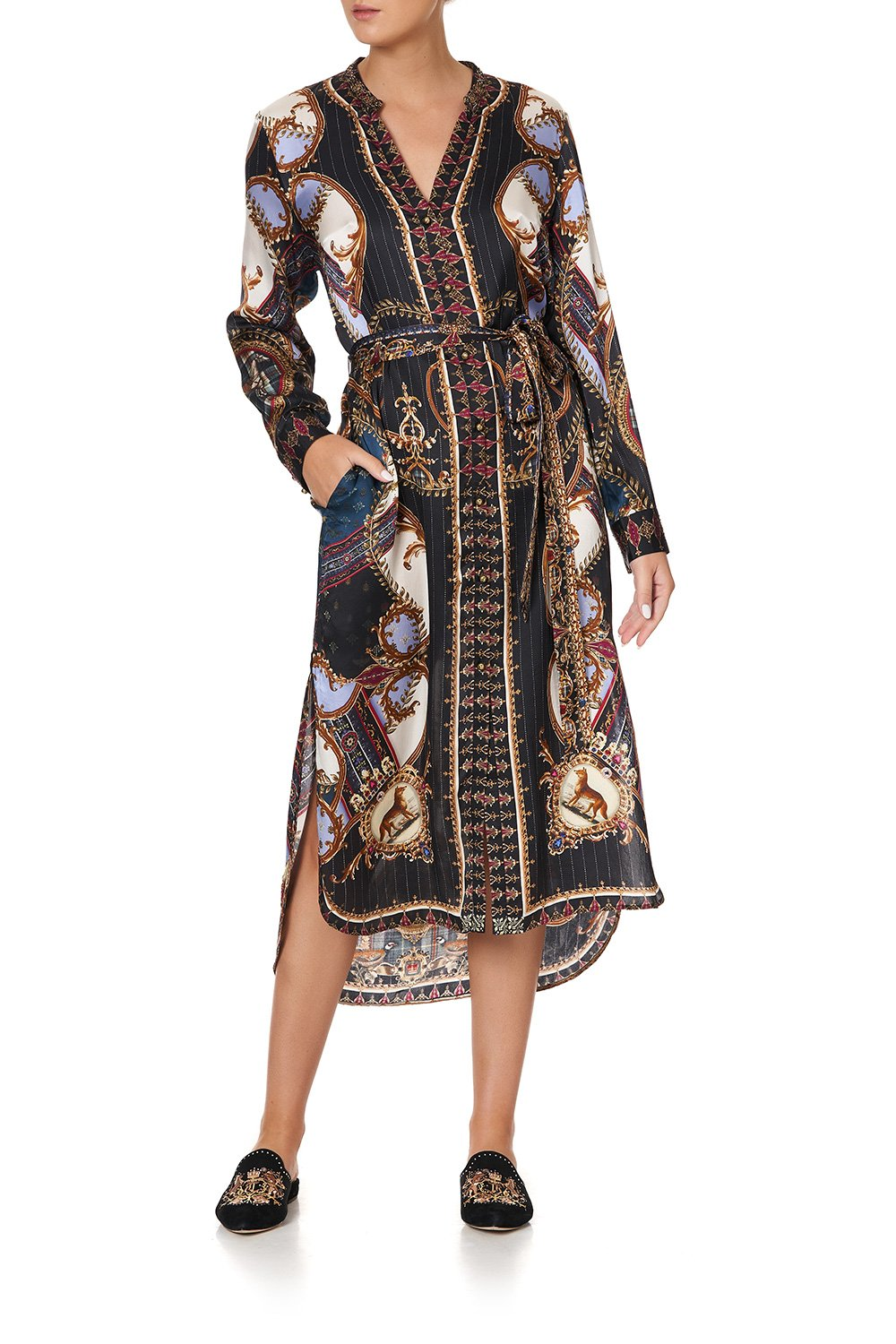 MID LENGTH SHIRT DRESS DINING HALL DARLING