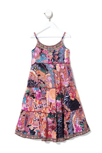 KIDS HIGH LOW HEM DRESS 4-10 MAYFAIR MARY