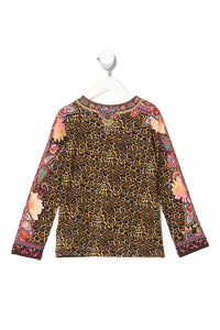 KIDS FITTED LONG SLEEVE TOP 4-10 MAYFAIR MARY