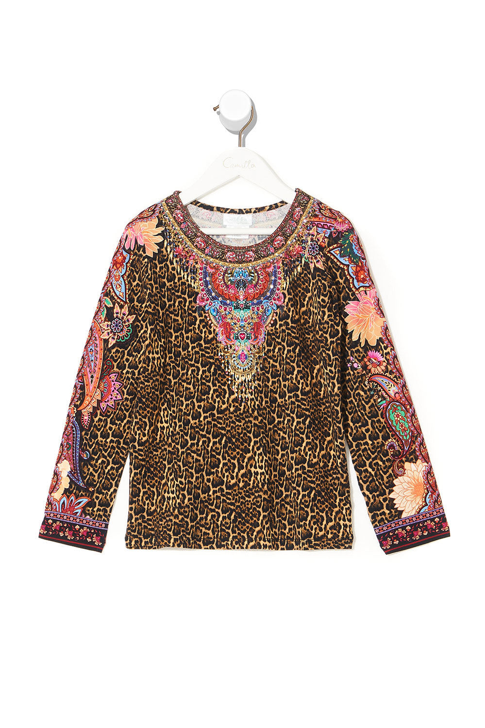 KIDS FITTED LONG SLEEVE TOP 12-14 MAYFAIR MARY