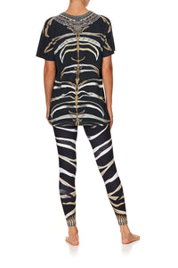 RAGLAN TEE ZEBRA CROSSING