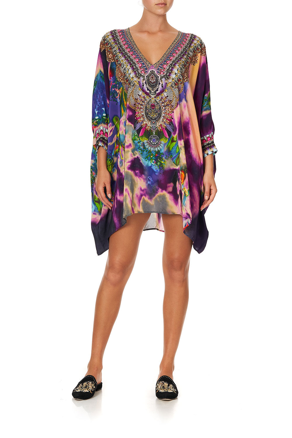 SHORT KAFTAN WITH CUFF ACID ABBEY