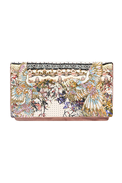 EMBELLISHED CLUTCH KINDRED SKIES