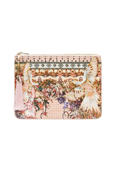 SMALL CANVAS CLUTCH KINDRED SKIES