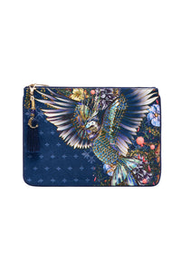 SMALL CANVAS CLUTCH SOUTHERN TWILIGHT