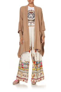 OVERSIZED PATCH POCKET CARDIGAN LE PALAIS DU ZAHIR