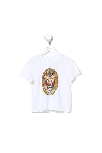 KIDS SHORT SLEEVE T-SHIRT JEANNE QUEEN
