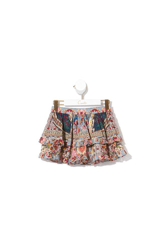 DOUBLE LAYER FRILL SKIRT JEANNE QUEEN