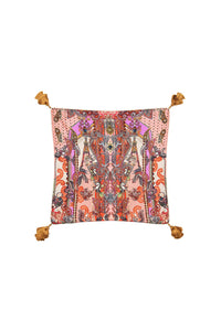 SMALL SQUARE CUSHION LOTUS LOVERS