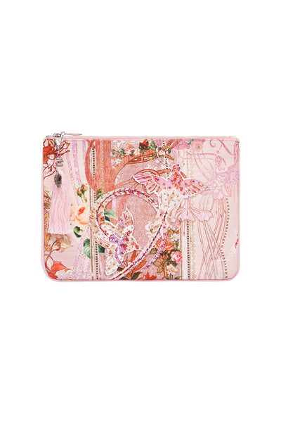 SMALL CANVAS CLUTCH ISTENANYA