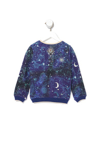 KIDS SWEATER STARGAZERS DAUGHTER