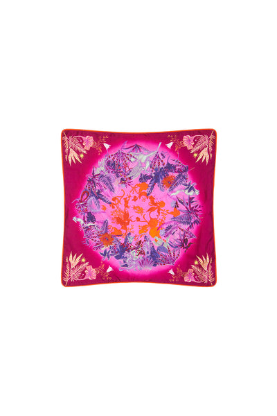 SMALL SQUARE CUSHION TROPIC OF NEON
