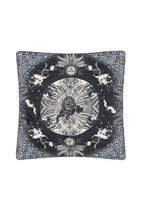 LARGE SQUARE CUSHION MOONLIT MUSINGS