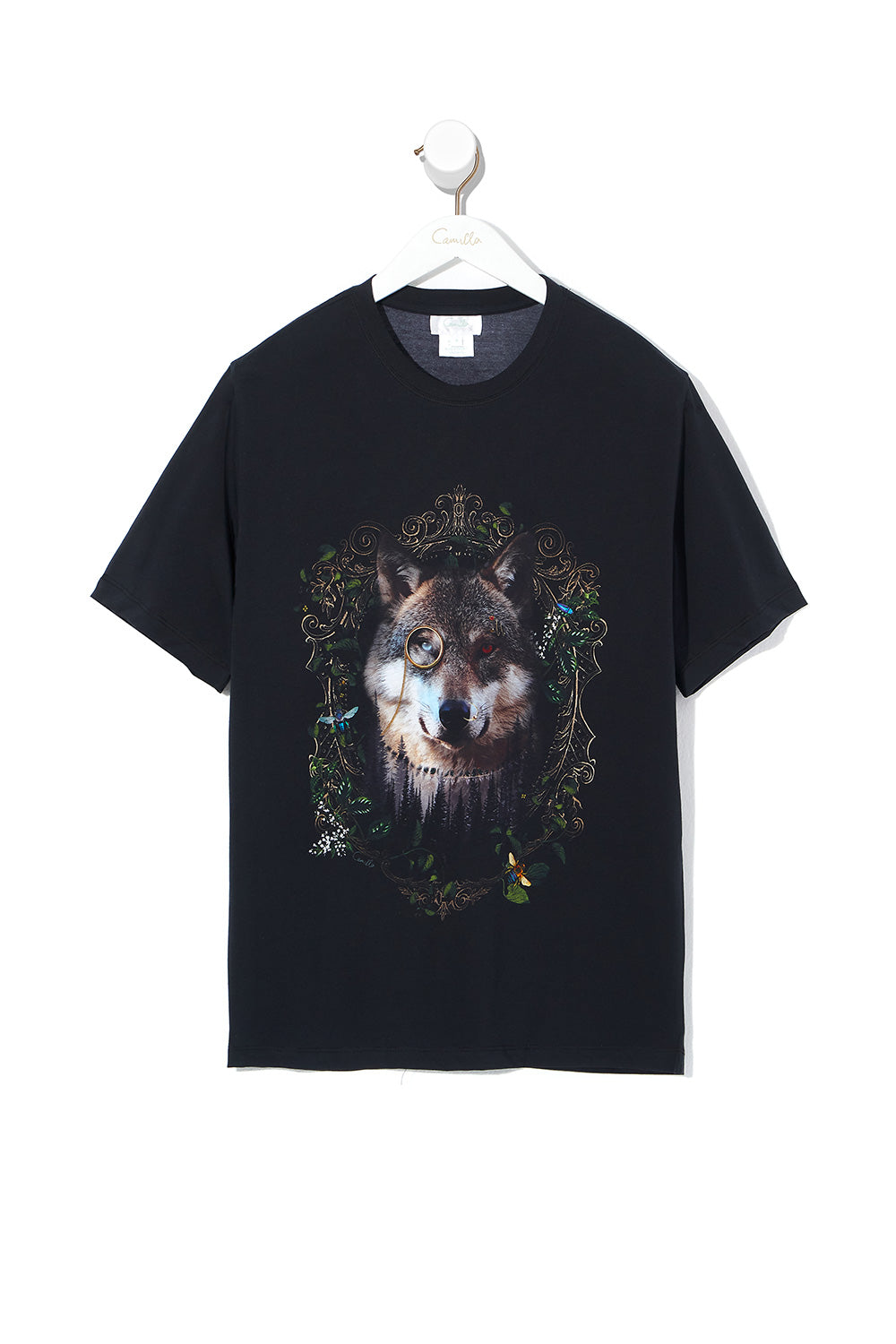 ROUND NECK T SHIRT MIRROR MIRROR