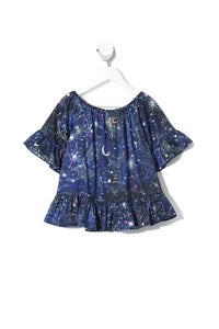 INFANTS A-LINE FRILL DRESS STARGAZERS DAUGHTER