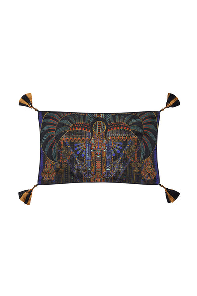 RECTANGLE CUSHION SCARAB RISING
