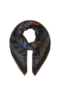 LARGE SQUARE SCARF GATEWAY TO GIZA