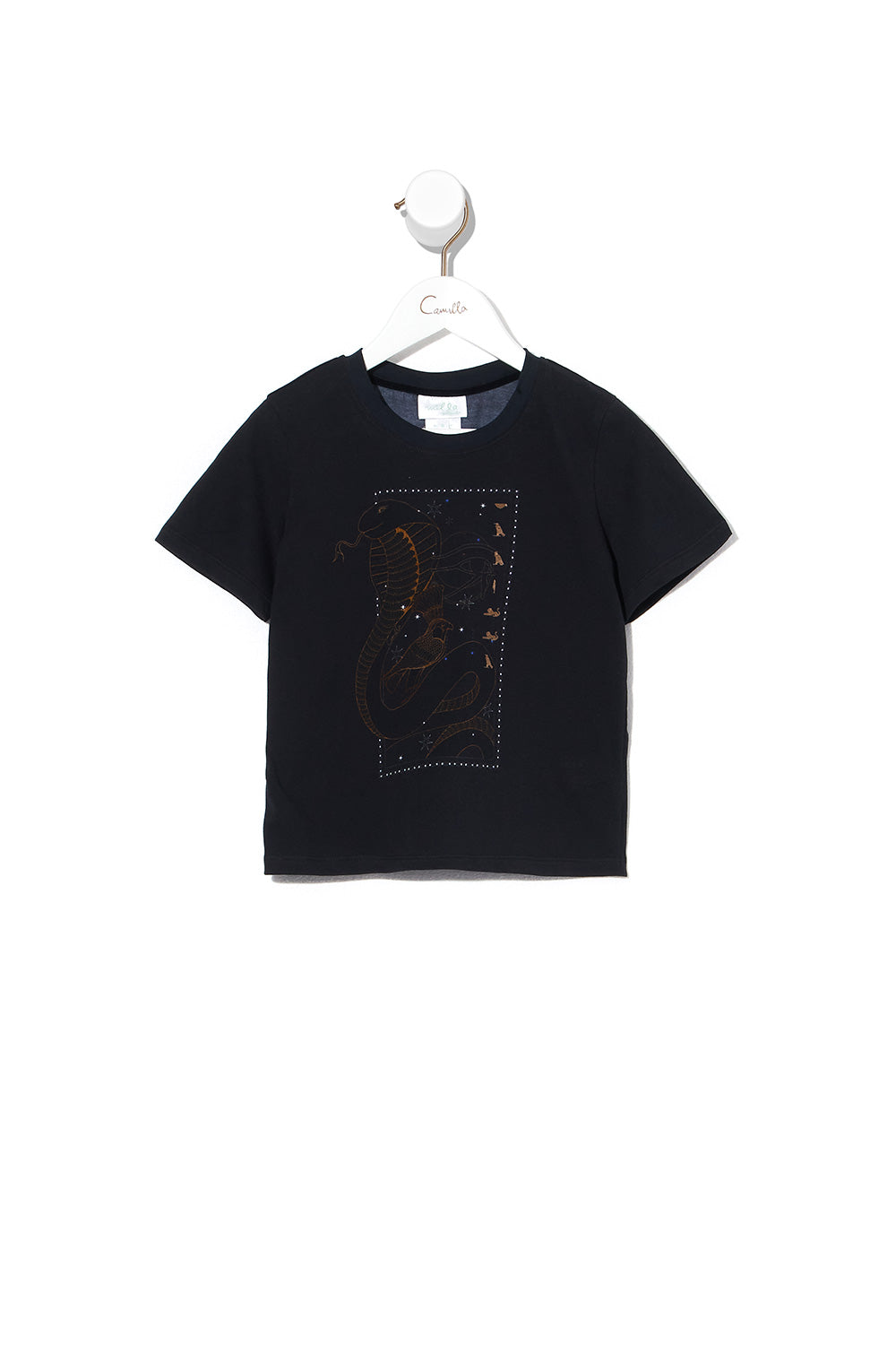 BOYS SHORT SLEEVE T-SHIRT COBRA KING