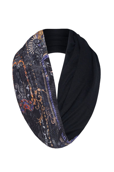 DOUBLE SIDED SCARF SON OF SEVEN QUEENS