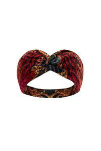 WOVEN TWIST HEADBAND SLAVE TO THE RHYTHM