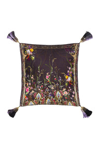 LARGE SQUARE CUSHION WILD FLOWER