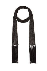 KNIT SKINNY SCARF HAUTE PROVINCIAL