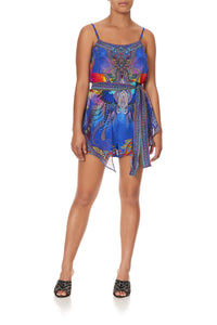 LAYERED PLAYSUIT PSYCHEDELICA