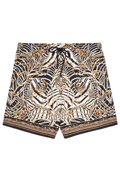 ELASTIC WAIST BOARDSHORT NIGHT WAITING FOR DAY