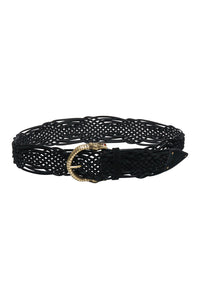 WOVEN LEATHER BELT LIV A LITTLE
