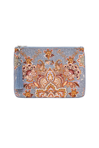 SMALL CANVAS CLUTCH LE PALAIS DU ZAHIR