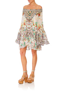 CAMILLA TIME AFTER TIME A-LINE FRILL DRESS