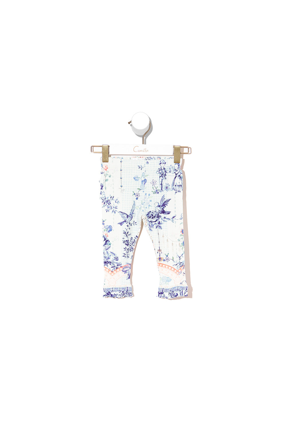 BABIES LEGGINGS WITH FRILLS PETIT DREAMER