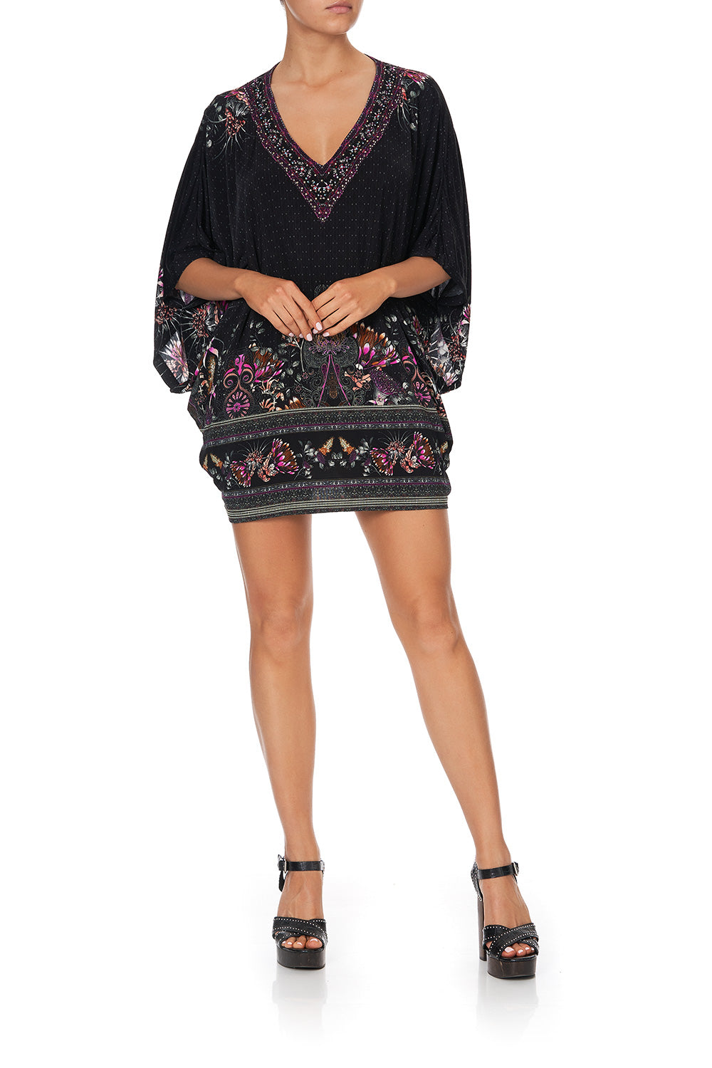 BAT SLEEVE DRESS RESTLESS NIGHTS