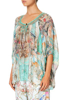 CAMILLA BLOUSE WITH KEYHOLE FRONT I DREAM OF MARIE