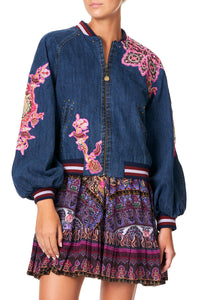 CAMILLA BLOUSON SLEEVE BOMBER DAUGHTER'S DESTINY