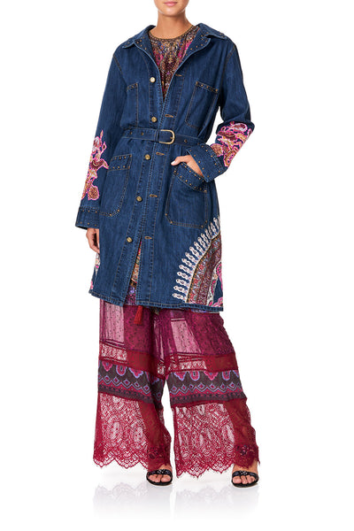 CAMILLA DENIM TRENCH COAT DAUGHTER'S DESTINY