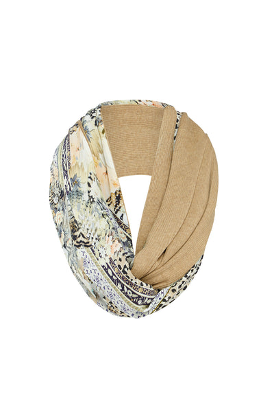 DOUBLE SIDED SCARF MOTO MAIKO