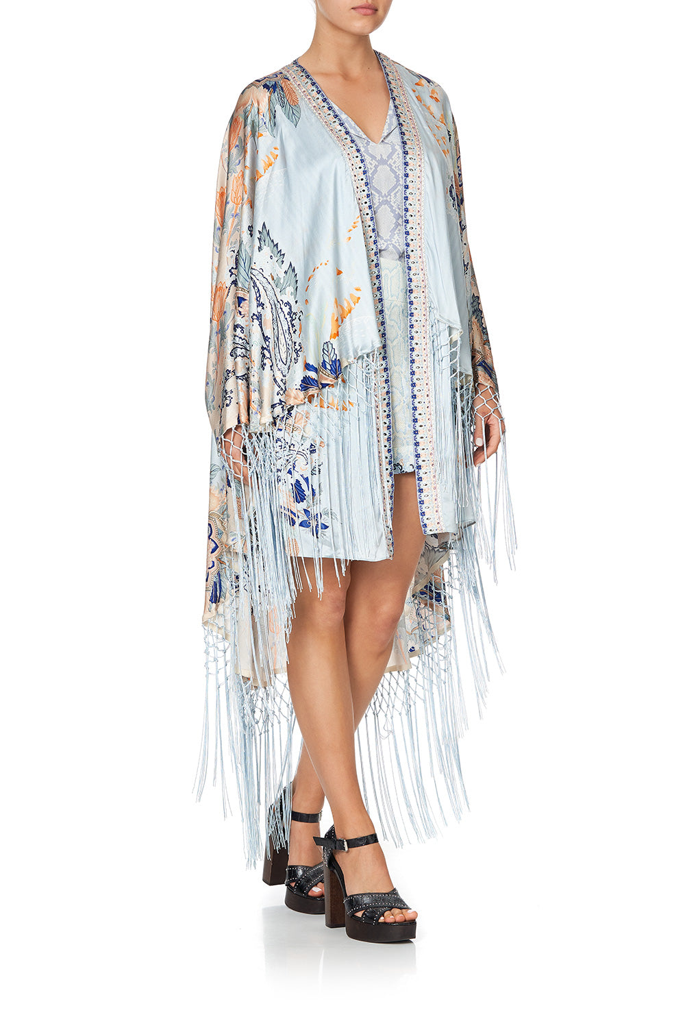 DRAPED HIGH-LOW LAYER FRASER FANTASIA