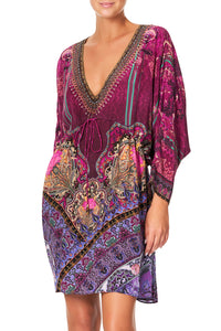 CAMILLA DRAWCORD WAIST SHORT KAFTAN DAUGHTER'S DESTINY