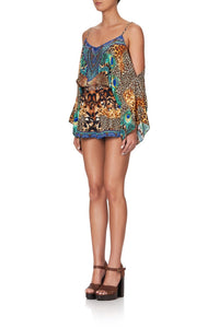 DROP SHOULDER PLAYSUIT MOTHER XANADU