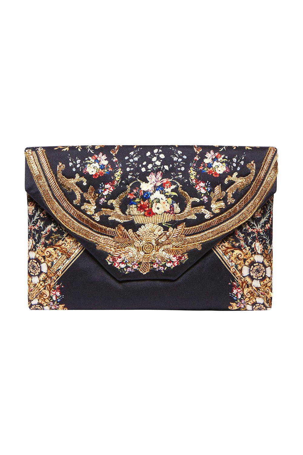 CAMILLA ENVELOPE CLUTCH FRIEND IN FLORA