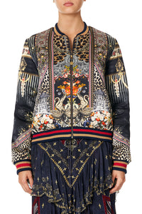 REVERSIBLE BOMBER JACKET THIS CHARMING WOMAN