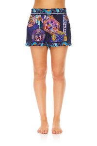 CAMILLA FLARED ELASTIC BACK SHORT STAR GAZER