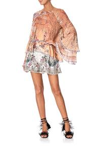 SHORTS WITH SIDE FLOUNCE SOUTHERN BELLE
